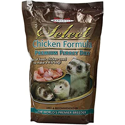 Marshall Pet Products Select Chicken Formula Premium Ferret Diet
