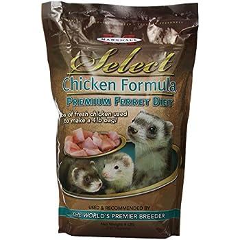 Marshall Pet Marshall Select Chicken Ferret Diet, 4-Pound Bag