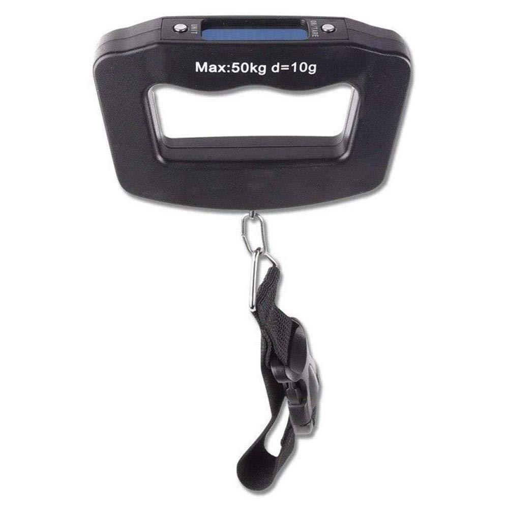 Febelle Main Balance /à Bagages num/érique jusqu/à 50/kg Noir