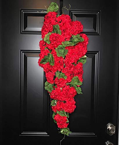 Valentine's Day Swag Wreath