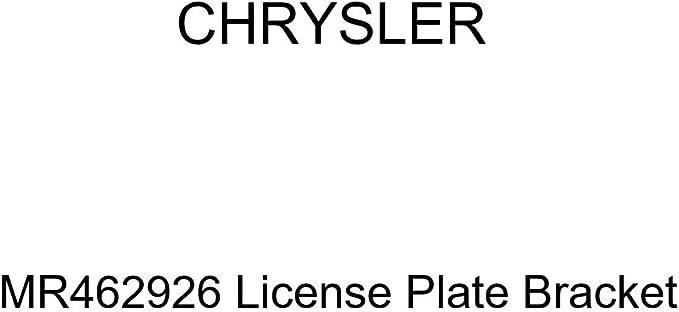 Genuine GM 25833011 License Plate Bracket Front