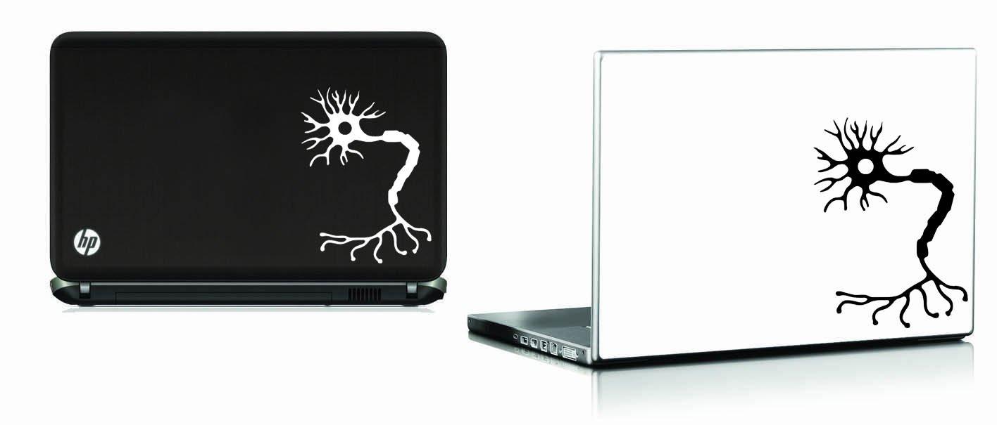 Neuron Sticker (White) Vinyl Decal