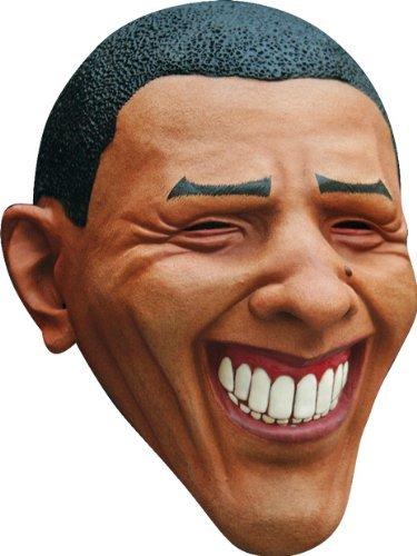 Barack Obama Joker Mask Brown -