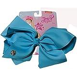 #3: JoJo Siwa Large Cheer Hair Bow (Basic Blue)