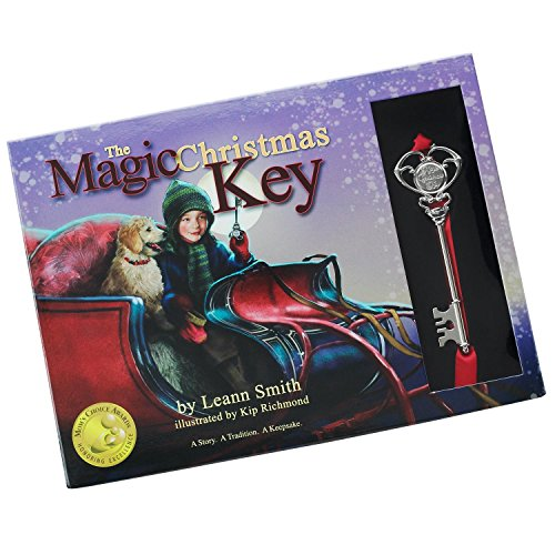 The Magic Christmas Key Book and Key Gift Set