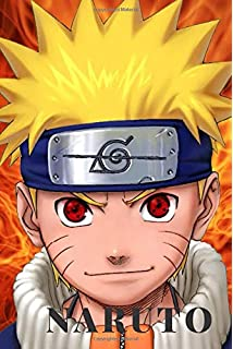 Naruto: Journal: A 110 Page Naruto Themed Colorful Diary and ...