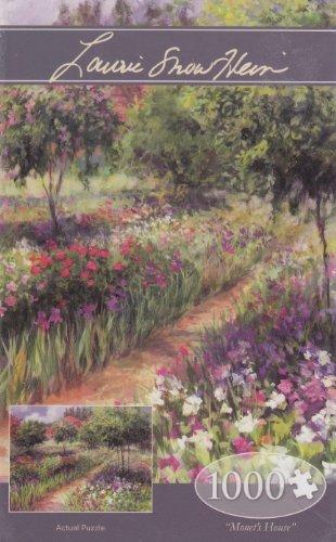 Monet's House ~ 1000 Piece Jigsaw Puzzle ~ Laurie Snow (Laurie Snow)