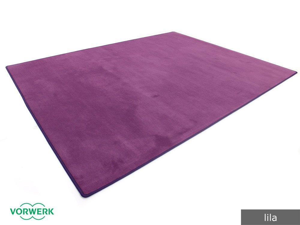Vorwerk Bijou lila der HEVO® Teppich   Spielteppich nicht nur für Kinder 160x200 cm