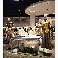 Mannequin Torso//Dimensioni della Forma del Corpo Femminile//Manichino Abito Abbigliamento Display//Cavalletto Stand Altezza Regolabile Realistico Display Girare la Testa