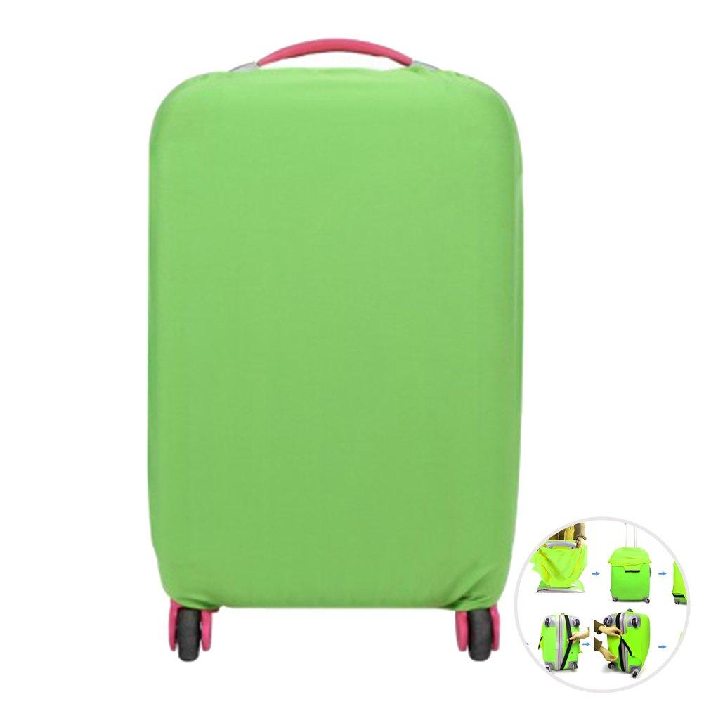 WINOMO - Custodia protettiva per valigia di plastica, contro la polvere, per valigia S, M e L