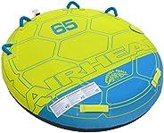 Airhead Comfort Shell Deck 65-1-2 Rider, Blue/Green