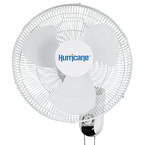 Hurricane 736503 Classic 16 Inch Wall Fan, Oscillating
