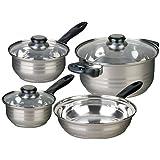 Cusine select abruzzo stainless steel 12 piece for Abruzzo 12 piece cookware set from cuisine select