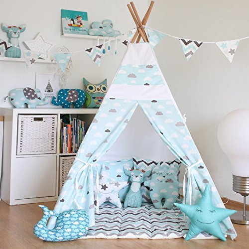 cabane pour chambre enfant top pour crer un espace bureau. Black Bedroom Furniture Sets. Home Design Ideas