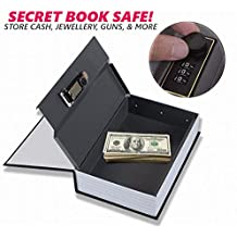 Security Box,Dictionary Hidden Diversion Book Safe with Combination Lock Secret Security Money Cash Jewelry Gun Stash PASSWORD