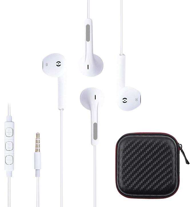1 opinioni per Ankoda®, auricolari con telecomando e microfono per iPhone, Samsung Galaxy,