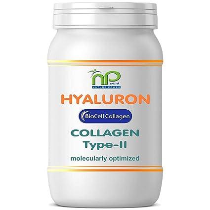 Biocell® 60 Collagen II de ácido hialurónico - cápsulas fórmula altamente concentradas 1000 mg/día - articulaciones pelo piel (1x60)