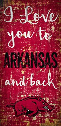 Fan Creations NCAA Arkansas Razorbacks 6