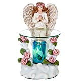 Angel Poly-resin Oil Burner - Wax Melter - Candle Burner - Air Freshener - Great Aroma - with Diffuser switch