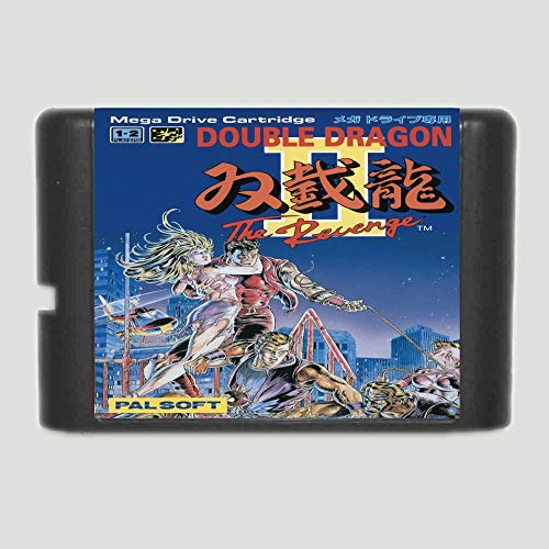 The Crowd Tradensen Double Dragon 2 16 Bit Sega Md Card for Sega Mega Drive for Genesis