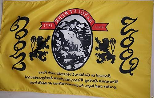 Werrox Coors The Banquet Beer Flag 3' X 5' Deluxe Indoor Outdoor Banner | Model FLG - 552 | (Tank Coors Light Car)