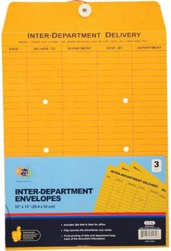 Envelope Inter-Department 3Pc 10X13