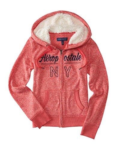 Aeropostale Womens Knit Fleece Hoodie