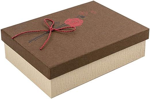 RemeeHi Caja de Regalo Gran tamaño Caja de Papel Grande Cajas de ...