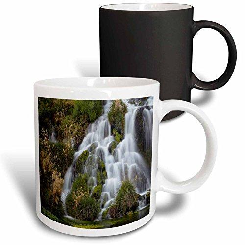 3dRose Danita Delimont - Waterfalls - Waterfalls at Niagara Springs, Idaho, USA - 11oz Magic Transforming Mug - Usa Niagara Outlets Falls