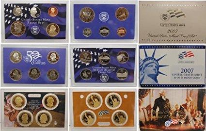 - 2007 S United States Mint Proof Set Proof