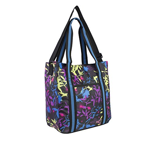 Price comparison product image FUEL Multipurpose Tote with Crossbody Strap,  Butterflies and Flowers