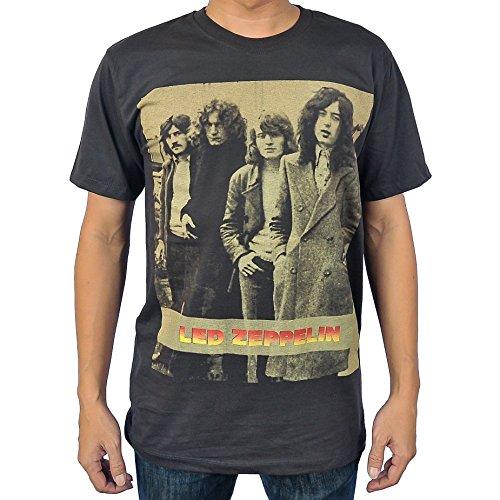 [Rockstar55 Led Zeppelin T Shirt Small Black] (Led Zeppelin Zoso T-shirt)
