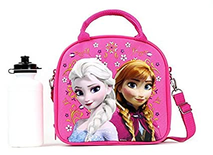 Amazon.com: Disney Frozen Lunch Box bolsa de transporte con ...