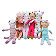 Under The Nile Scrappy Cats - Assorted Patterns, Sold Individually