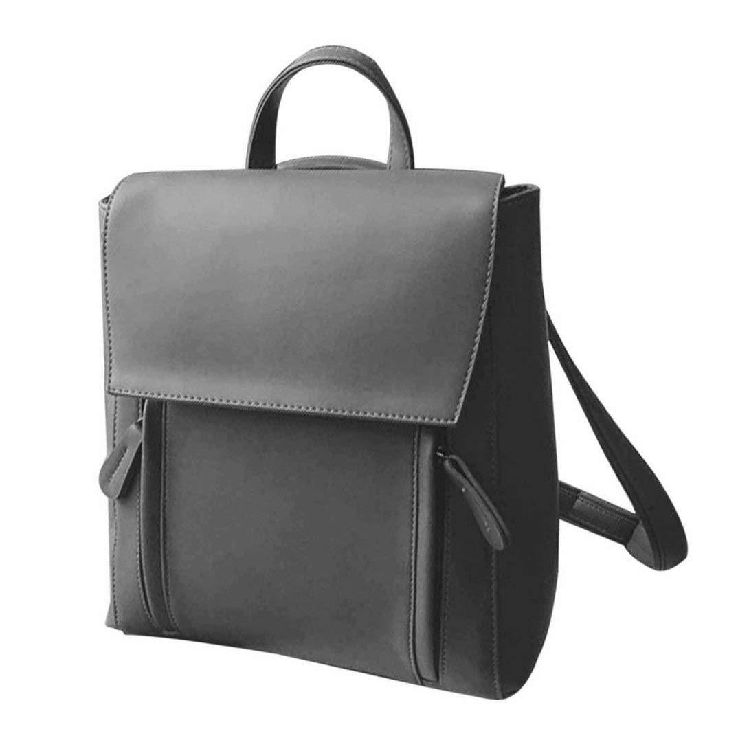 Tivolii Fashion Shoulder Bag Rucksack PU Leather Women Girls Ladies Backpack Travel bag