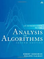 An Introduction to the Analysis of Algorithms, 2nd Edition Front Cover