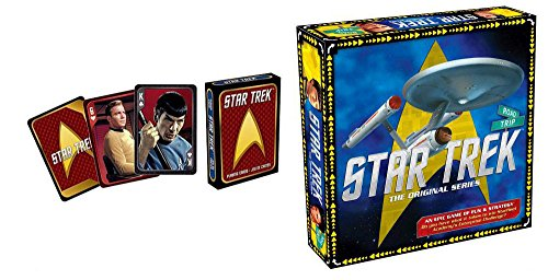 Star Trek Board Game and Playing Card Bundle ()