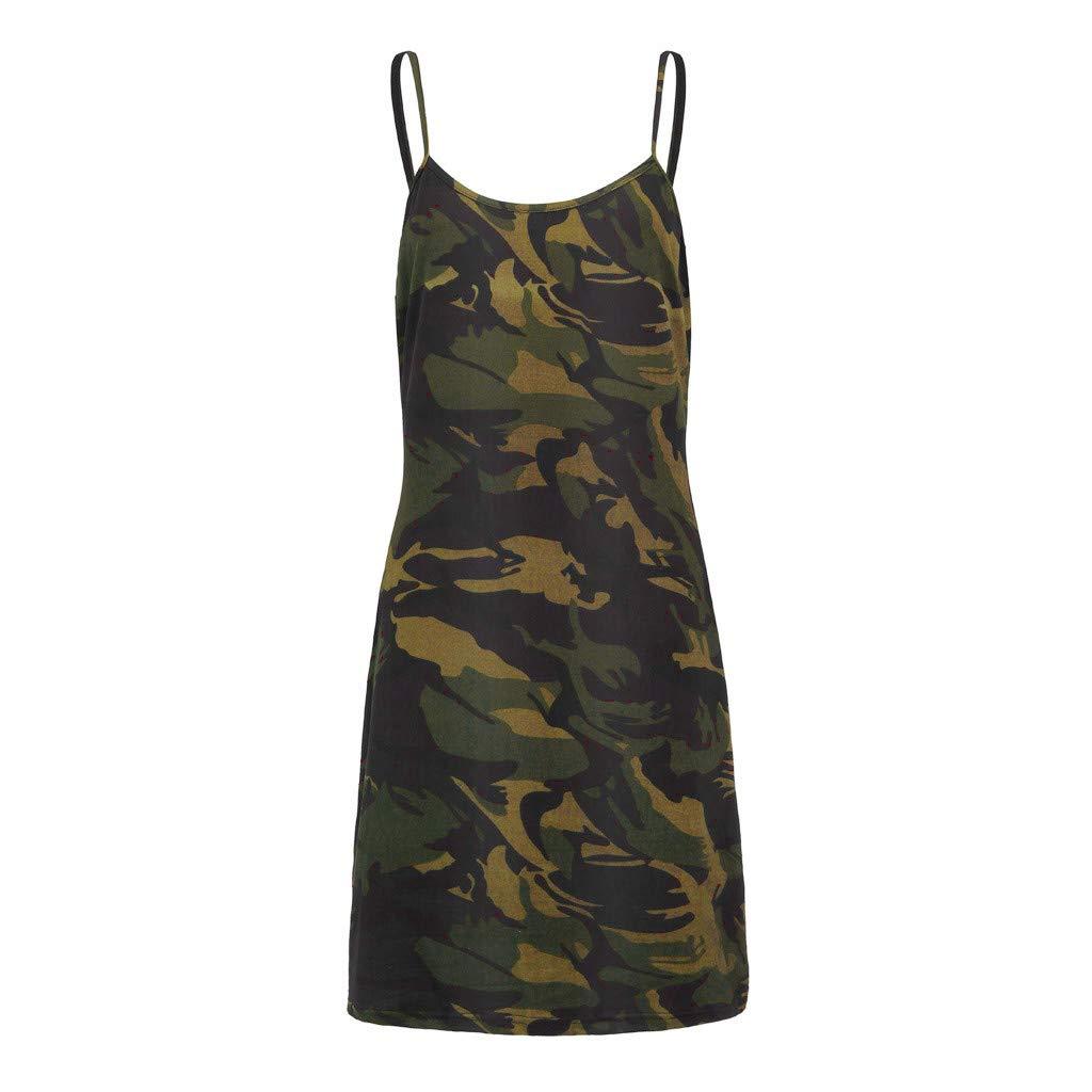 Transer Spaghetti Bodycon Dress for Womens Plus Size Printed Bandage Sleeveless Summer Simple Mini Dresses