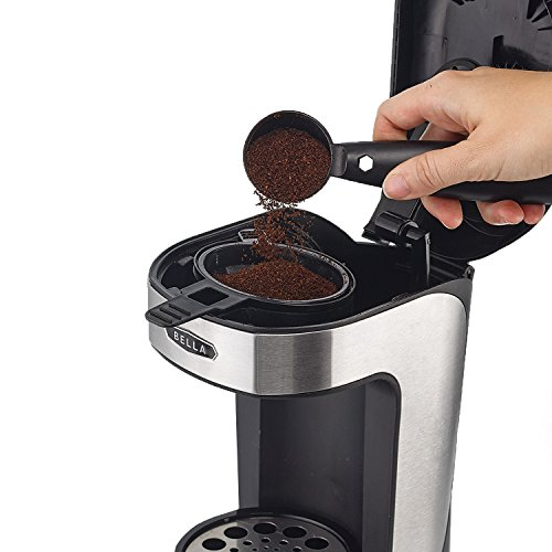 bella coffee maker bla14436 one scoop one cup coffee maker black and 13046