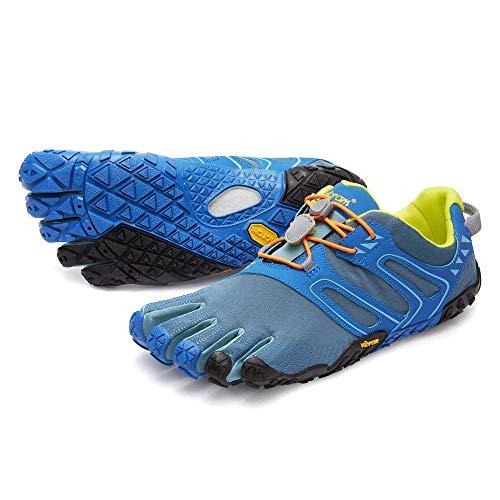 Vibram FiveFingers Men's V-Trail Barefoot Shoes Tapestry/Blue 38 (Thirty Fingers)