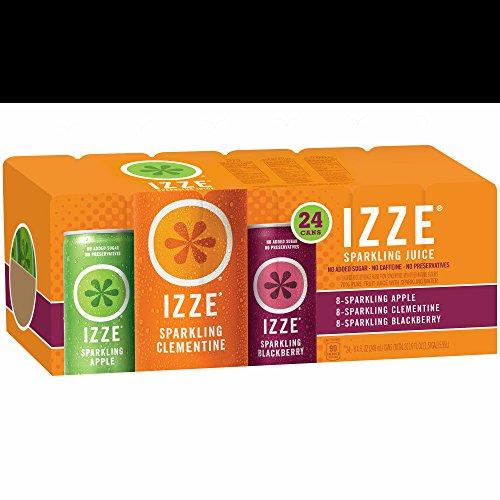 Izze Sparkling Juice, 24 pk./8.4 oz. (pack of 6) by Izze