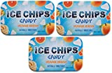 ICE CHIPS Xylitol Candy Tins (Orange Cream, 3 Pack)