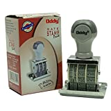 Oddy Paid Dater Date Stamp, Superior Grip & Finish Plastic Mould, Separate Ink-Pad Required - 1 Piece