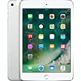 Apple iPad mini 4 MK8E2LL/A (128GB, Wi-Fi + Cellular, Silver) NEWEST VERSION