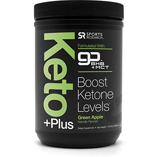 NEW! Keto Increased by™ MCT Oil + Exogenous Ketones (BHB) ~ Caffeine free energy to help enhance Ketosis, Fat Burning, Performance & Focus ~ Vegan & Keto fare friendly, Non-GMO (Green Apple)
