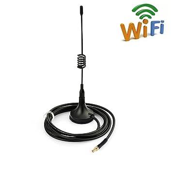TS9 Base Magnética Antenna 11DBI Alta Ganancia 4G LTE , Amplificador de Antena GSM Wifi Receptor