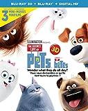 The Secret Life of Pets [3D Blu-ray + Blu-ray + Digital HD]