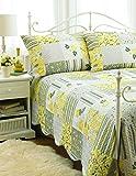 HOTEL 07120 Quilt Bedspread Set Bella-DQ Quilted Bedspread Set Bella- Full/Queen