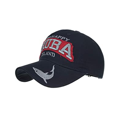 5f5ae90e8b871 Honestyi Unisex Gorras Beisbol para Hombre Mujer Bordado Ajustable  Casquillo de Verano Sombreros Malla Casuales Sombreros Hip Hop Motocicleta  Tapa Mezclilla ...
