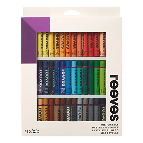 (Reeves Oil Pastels-Set of 48)